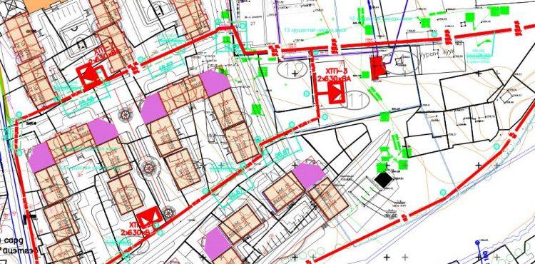 Цахилгаан хангамжийн шугам сүлжээний трасс зөвшилцөх