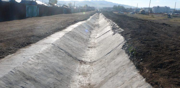Инженерийн бэлтгэл арга хэмжээ /үерийн далан суваг, хөрсний ус/-ний трасс зөвшилцөх