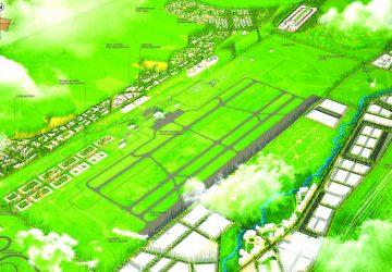 Улаанбаатар хотын олон улсын нисэх онгоцны шинэ буудлыг даган хөгжих шинэ хотын ерөнхий төлөвлөгөөны тодотгол