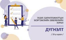 Газар, барилгажилтын мэргэжлийн зөвлөлийн 35 дугаар хурлын дүгнэлт /2020.09.15/