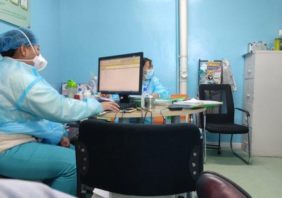 Коронавирусын халдварын үеийн тусламж үйлчилгээнд дэмжлэг үзүүлэн ажиллаж байна.